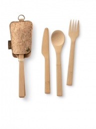 Bambu Grubware Travel Utensil Set