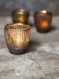 Adari Ribbed Votive