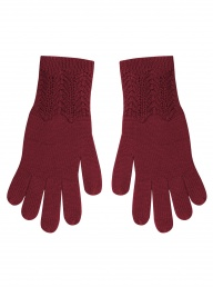Komodo Merino Apy Gloves - Red