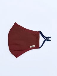 1x Fabric Mask 2x Filters - Burgundy