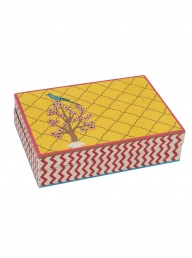 Papier Mache Tree Box - Rectangle