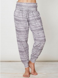 Ziggy Bamboo Slacks - Textured Stripe