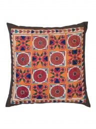 Vinatage Embroidered Cushion