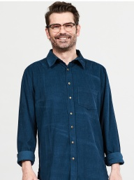 Nomads Cord Shirt - Midnight