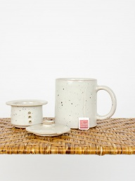 Earth Mug with Tea Infuser from Afroart