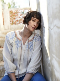 Nomads Embroidered Tunic Shirt
