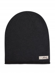 Eco Cashmere Fanny Hat - Charcoal
