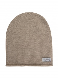 Eco Cashmere Fanny Hat - Stone