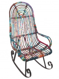 Recycled Rocking chair