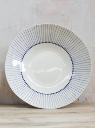 Iba Serving Bowl Indigo - Large