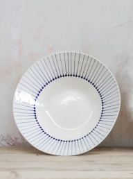 Iba Serving Bowl Indigo - Small