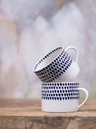 Indigo Drop Mug - Short