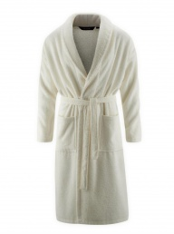 Organic Unisex Dressing Gown Natural