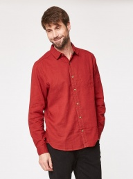 Devan Hemp Shirt - Rust