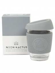Glass Cup from Neon Kactus - Grey