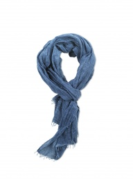 Pya Cotton Scarf - Washed Blue