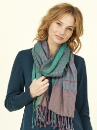 Check Scarf from Nomads - Peppermint