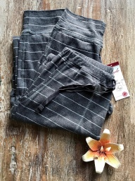 Organic Cotton Lounge Bottoms - Coal
