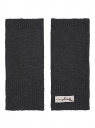 Eco Cashmere Pya Mittens - Charcoal