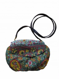 Sari Bari Clutch Bag with Strap