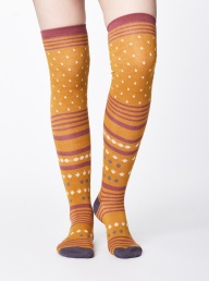 Thought Esana Socks - Mustard