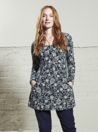 Nomads Organic Floral Tunic Top