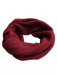 Komodo Merino Twist Snood - Red