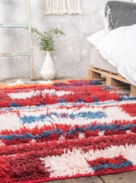 Tribal Shaggy Rug