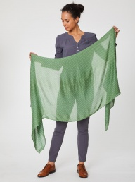 Thought Ruskin Bamboo Scarf-Fern Green
