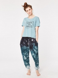 Thought Mori Bamboo Slacks - Tye Dye