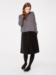 Thought Beatrice Organic Skirt - Black