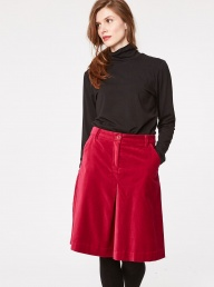Thought Beatrice Organic Skirt - Ruby