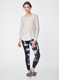 Thought Elsenore Leggings - Dark Navy