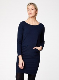 Thought Laurel Dress - Navy