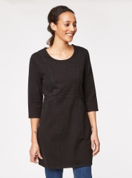Thought Natalia Dress - Charcoal