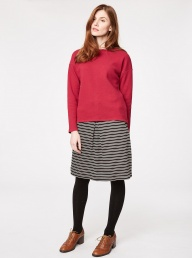 Thought Helena Organic Top - Ruby