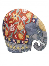 Elephant Crewel Teacosy