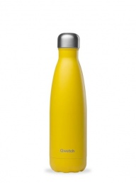 Insulated Stainless Steel Bottle Yellow