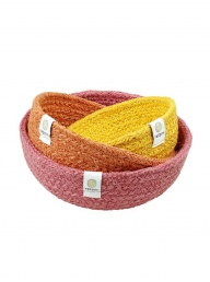 Respiin Jute Mini Bowl Set - Fire