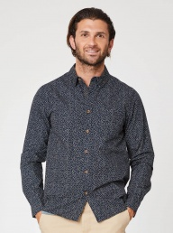 Thought Spotted Organic Cotton Shirt