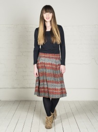 Nomads Organic Jersey Skirt - Copper