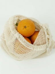 Organic Cotton Mesh Produce Bag Large