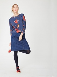 Thought Chusho Bamboo Floral Top