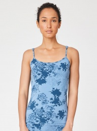 Thought Sabrina Bamboo Vest-Blue