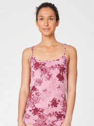 Thought Sabrina Bamboo Vest-Pink