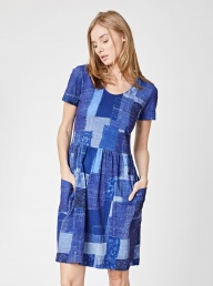 Thought Boro Organic Patchwork Dress