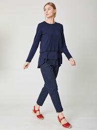 Thought Jarrell Floaty Jumper - Navy